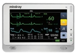 T1 Transport Patient Monitor w/ Nellcor OxiMax SpO2, ST/Arrhythmia Analysis & 12 Lead ECG