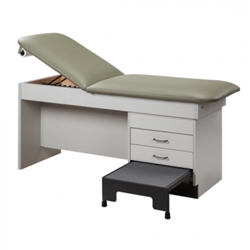 Integral Treatment Table w/ Step Stool (2-Door)