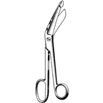 "Sklar 8"" Surgi-OR Lister Bandage Scissors, Large Finger Ring"