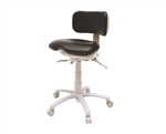 Brewer 9500B-L Premium Ergonomic Dental Stool (Low Height)