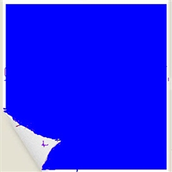 "Sklar Adhesive Color Identification Sheets, Royal Blue, 8.5"" x 11"""