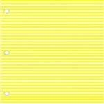 "Sklar Adhesive Color Identification Sheets, Yellow, 8.5"" x 11"""