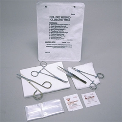 Sklar Deluxe Wound Closure Tray