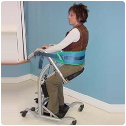 Quick Move Standing Frame with Adjustable Base