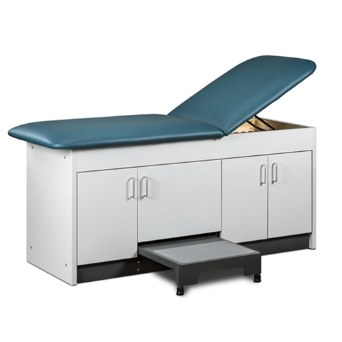 Clinton 9704 4-Door Step-Up Cabinet Treatment Table