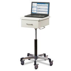 Compact, Tec-Cart Mobile Work Station w/ Drawer