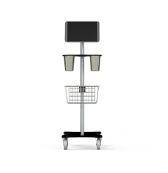 ViewBladder 10 Mobile Cart w/ Basket & Two Cups