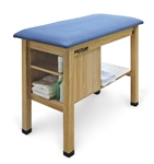 Hausmann H-Brace Taping Table With End Cabinet