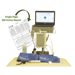 simpleABI™ System 450 - Reimbursable ABI System (Automated ABI, TBI, & Stress Studies)