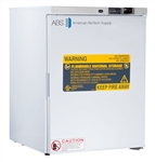 5 cubic foot ABS Premier Freestanding Undercounter Flammable Storage Refrigerator