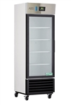 19 Cubic Foot ABS Premier Single Glass Door Laboratory Refrigerator - Left Hinged - Hydrocarbon