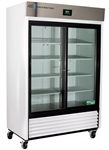47 Cubic Foot ABS Premier Double Sliding Glass Door Laboratory Refrigerator