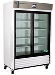 47 cu ft ABS TempLog Premier Laboratory Double Sliding Glass Door Refrigerator, Touch Screen - Hydrocarbon (Medical Grade)