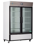 49 Cubic Foot ABS TempLog Premier Laboratory Double Swing Glass Door Refrigerator