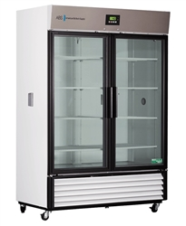 49 Cubic Foot Premier Double Swing Glass Door Chromatography Refrigerator