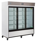 69 Cubic Foot ABS TempLog Premier Laboratory Triple Sliding Glass Door Refrigerator