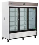 69 Cubic Foot Premier Triple Sliding Glass Door Chromatography Refrigerator