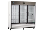 72 cu ft ABS Premier Triple Swing Glass Door Chromatography Refrigerator - Hydrocarbon (Medical Grade)
