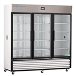 72 Cubic Foot TempLog Premier Triple Swing Glass Door Chromatography Refrigerator