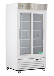 33 Cubic Foot Double Sliding Glass Door Chromatography Refrigerator