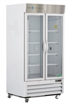 36 Cubic Foot Double Swing Glass Door Chromatography Refrigerator - Hydrocarbon (Medical Grade)
