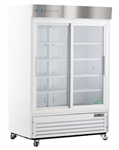 47 Cubic Foot Double Sliding Glass Door Chromatography Refrigerator - Hydrocarbon