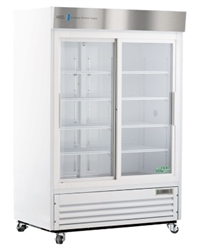 47 Cubic Foot Double Sliding Glass Door Chromatography Refrigerator