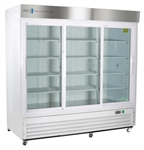 69 Cubic Foot Triple Sliding Glass Door Chromatography Refrigerator - Hydrocarbon