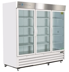 72 Cubic Foot Triple Swing Glass Door Chromatography Refrigerator - Hydrocarbon