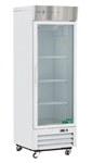 16 Cubic Foot ABS Single Swing Glass Door Laboratory Refrigerator