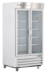36 Cubic Foot ABS Double Swing Glass Door Laboratory Refrigerator - Hydrocarbon