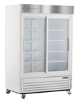 47 Cubic Foot ABS Double Sliding Glass Door Laboratory Refrigerator - Hydrocarbon
