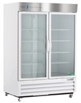 49 Cubic Foot ABS Double Swing Glass Door Laboratory Refrigerator - Hydrocarbon