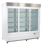 69 Cubic Foot ABS Triple Sliding Glass Door Laboratory Refrigerator - Hydrocarbon