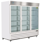 72 Cubic Foot ABS Triple Swing Glass Door Laboratory Refrigerator