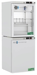 10 cu ft ABS Glass Door Refrigerator & Solid Door Freezer Combination - Hydrocarbon (Medical Grade)