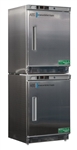 9 cu ft ABS Premier Stainless Steel Refrigerator & Freezer Combination - Hydrocarbon (Medical Grade)
