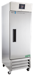 23 cubic foot Upright Premier Series Stainless Steel Freezer