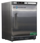 4.5 Cu Ft ABS Premier Undercounter Stainless Steel Refrigerator - Hydrocarbon (Medical Grade)