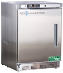 4.5 Cu Ft ABS Premier Undercounter Stainless Steel Refrigerator, Left Handed - Hydrocarbon (Medical Grade)