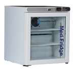 1 Cu Ft ABS Premier Countertop Refrigerator, Left Handed - Hydrocarbon (Medical Grade)