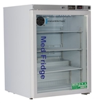 5.2 Cubic Foot ABS Premier Glass Door Undercounter Refrigerator Freestanding