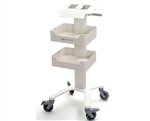 Trolley Cart For Fetal Monitor with 2 Brackets