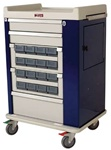 OptimAL Line, 16 Medication Bin, Cassette Cart