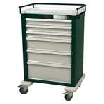 Harloff Universal Line Super 6 Drawer Cart with Electronic Lock