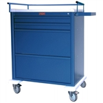 Harloff Aluminum Medication Cart