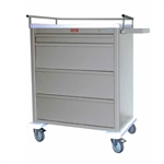 Harloff Universal Line Wide Medication Cart