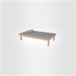 Armedica Mat Table - Fixed Height - Maple Hardwood