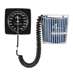 Amico Wall Mounted Aneroid Sphygmometer w/ Adult Cuff & Basket