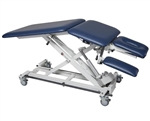 Armedica AMBAX5000 Hi-Lo Treatment Table w/ 3 Section Top & Bar Activated Height Control - Powered Center